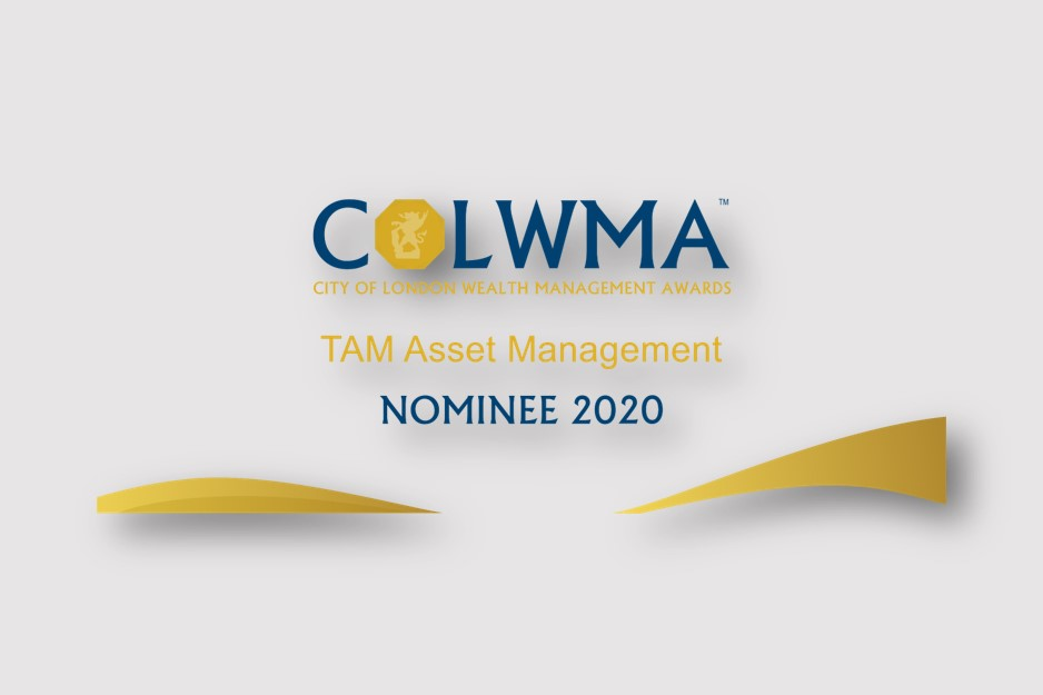 TAM nominated for Best in Discretionary Wealth Management